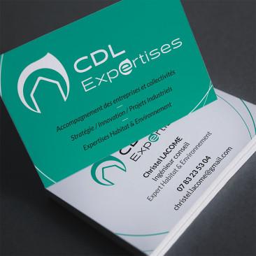 CDL EXPERTISES, carte de visite