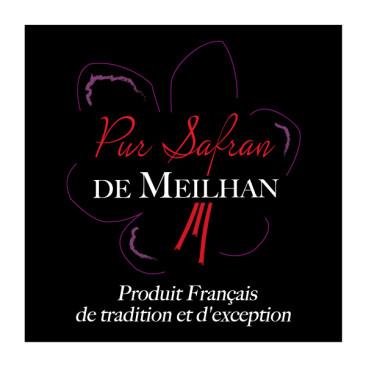 PUR SAFRAN DE MEILHAN, logo